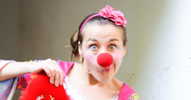 Марія Гавриловская про професії лікарняного клоуна