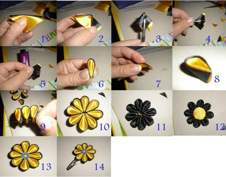 Канзаші для початківців: плетіння зі стрічок. Що потрібно для роботи в техніці канзаші? Як робити круглі і гострі пелюстки для квітів канзаші? Що можна зробити в техніці канзаші?