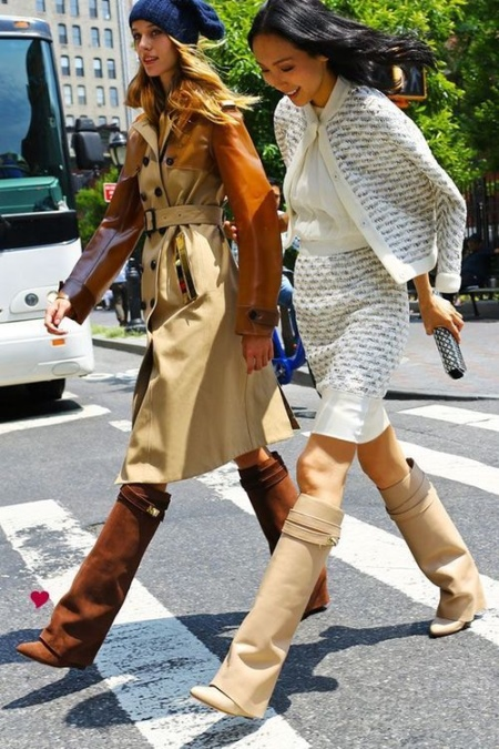 choboti givenchy 67 foto zh noch model z lancyuzhkom ta napuskom 11 - Чоботи Givenchy (67 фото): жіночі моделі з ланцюжком та напуском