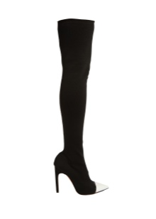 choboti givenchy 67 foto zh noch model z lancyuzhkom ta napuskom 30 - Чоботи Givenchy (67 фото): жіночі моделі з ланцюжком та напуском