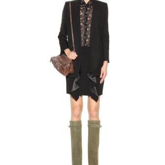choboti givenchy 67 foto zh noch model z lancyuzhkom ta napuskom 39 - Чоботи Givenchy (67 фото): жіночі моделі з ланцюжком та напуском