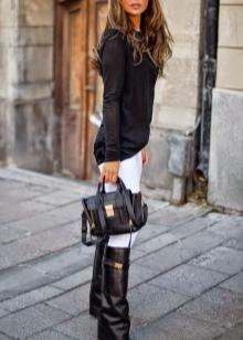 choboti givenchy 67 foto zh noch model z lancyuzhkom ta napuskom 57 - Чоботи Givenchy (67 фото): жіночі моделі з ланцюжком та напуском