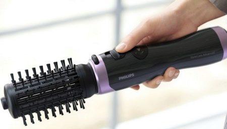 Фен-щітки Philips: огляд фенів з крутиться гребінцем і вибір моделі для укладання волосся Philips