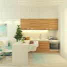 kuhnya stud ya 20 kv m 50 foto var anti dizaynu sum schenih k mnat ploscheyu 20 kvadrat v v kvartir 21 - Кухня-студія 20 кв. м (50 фото): варіанти дизайну суміщених кімнат площею 20 квадратів в квартирі