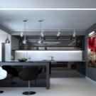 kuhnya stud ya 20 kv m 50 foto var anti dizaynu sum schenih k mnat ploscheyu 20 kvadrat v v kvartir 24 - Кухня-студія 20 кв. м (50 фото): варіанти дизайну суміщених кімнат площею 20 квадратів в квартирі