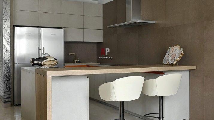 kuhnya stud ya 20 kv m 50 foto var anti dizaynu sum schenih k mnat ploscheyu 20 kvadrat v v kvartir 47 - Кухня-студія 20 кв. м (50 фото): варіанти дизайну суміщених кімнат площею 20 квадратів в квартирі