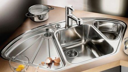 Металеві мийки для кухні (22 фото): особливості залізних кухонних раковин, огляд алюмінієвих і оцинкованих моделей. Як вибрати?