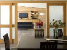 podv yn dver v zal 38 foto vibira mo m zhk mnatn dvodvern v trini u v tal nyu k mnatu nsh dvostulkov var anti h standartn rozm ri 27 - Подвійні двері в зал (38 фото): вибираємо міжкімнатні дводверні вітрини у вітальню кімнату і інші двостулкові варіанти. Їх стандартні розміри