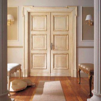 podv yn dver v zal 38 foto vibira mo m zhk mnatn dvodvern v trini u v tal nyu k mnatu nsh dvostulkov var anti h standartn rozm ri 30 - Подвійні двері в зал (38 фото): вибираємо міжкімнатні дводверні вітрини у вітальню кімнату і інші двостулкові варіанти. Їх стандартні розміри