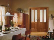 podv yn dver v zal 38 foto vibira mo m zhk mnatn dvodvern v trini u v tal nyu k mnatu nsh dvostulkov var anti h standartn rozm ri 8 - Подвійні двері в зал (38 фото): вибираємо міжкімнатні дводверні вітрини у вітальню кімнату і інші двостулкові варіанти. Їх стандартні розміри