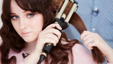 Потрійна плойка для волосся BaByliss: особливості щипців для завивки «хвиля». Тонкощі застосування, гарні приклади