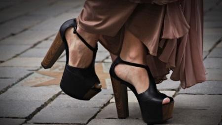 Туфлі на товстому каблуці і на платформі (51 фото): з чим носити моделі і як вони називаються